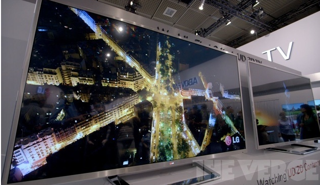 LG's 84-inch Ultra High-Definition 4K TV now available in the US at $19,999.99 - The Verge