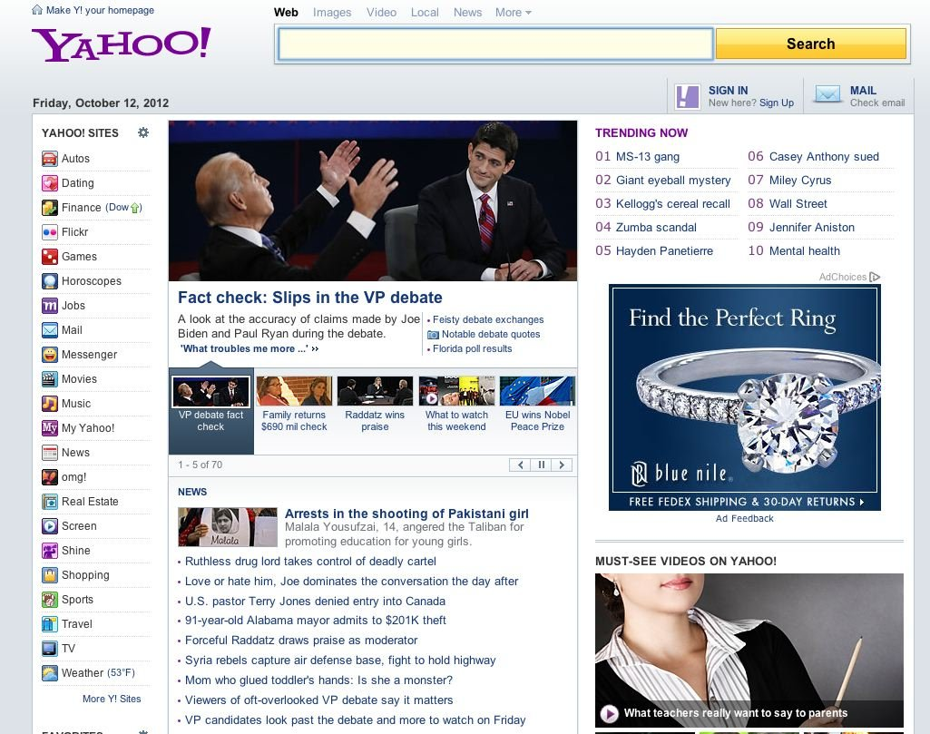 yahoos-homepage-now