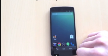 Nexus 5 and Android 4.4