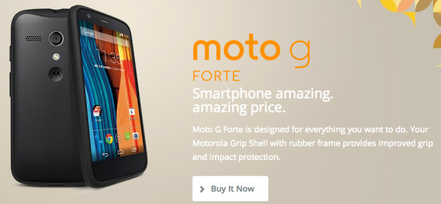 Motorola officially unveils Moto G Forte