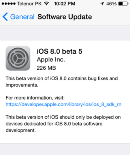 Apple-releases-iOS-8-beta-5-for-developers