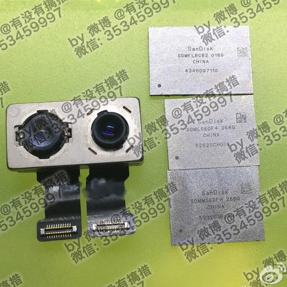 NAND-chips-and-dual-camera-module-for-the-iPhone-7-Plus